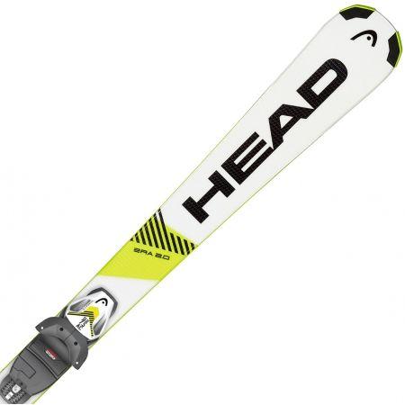 Dětské sjezdové lyže - Head SUPERSHAPE SLR + SLR 7.5 AC - 1