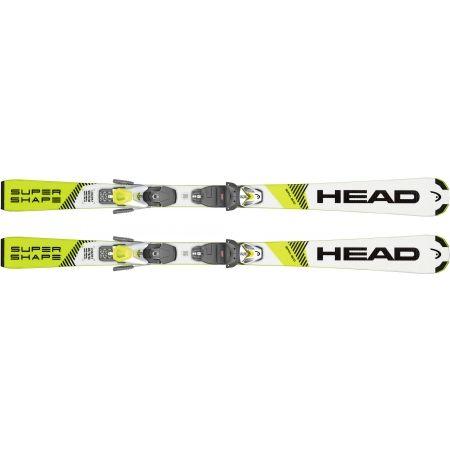 Dětské sjezdové lyže - Head SUPERSHAPE SLR + SLR 7.5 AC - 3