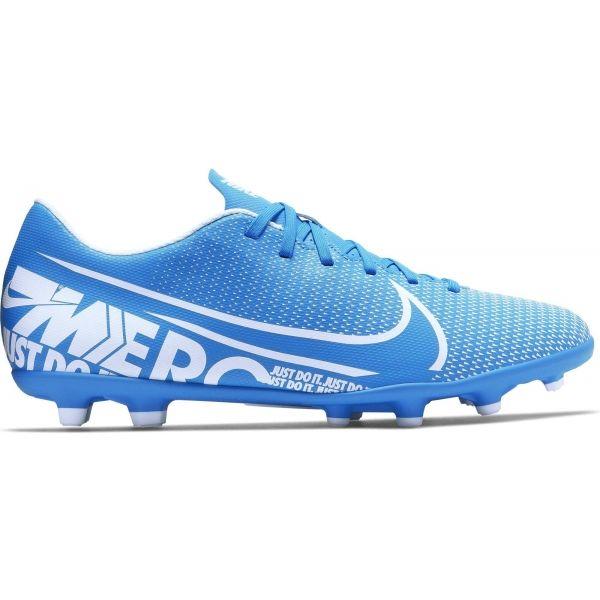 Nike MERCURIAL VAPOR 13 CLUB FG/MG modrá 7 - Pánské kopačky