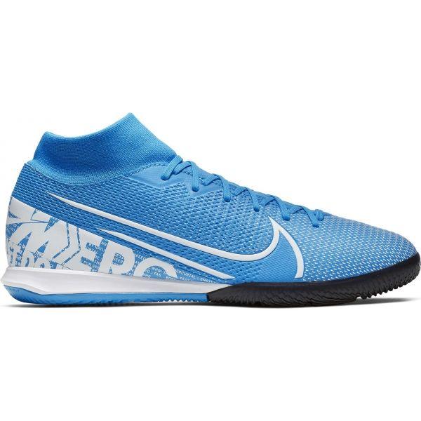 Nike MERCURIAL SUPERFLY 7 ACADEMY IC modrá 7 - Pánské sálovky