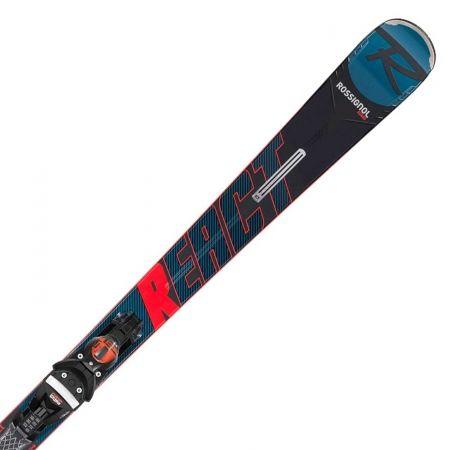 Sjezdové lyže - Rossignol REACT R8 TI KONECT + NX 12 KONECT GW B80 BK/RD - 1