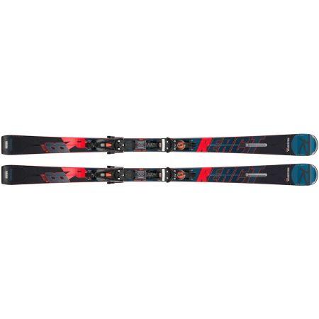 Sjezdové lyže - Rossignol REACT R8 TI KONECT + NX 12 KONECT GW B80 BK/RD - 2