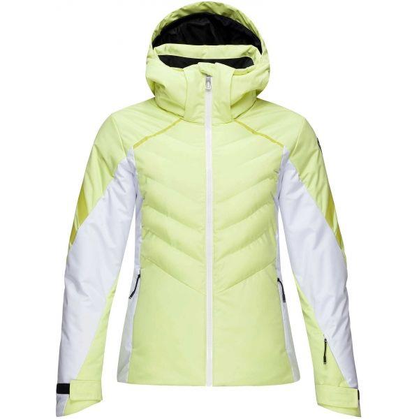 Rossignol W COURBE JKT žlutá L - Dámská lyžařská bunda