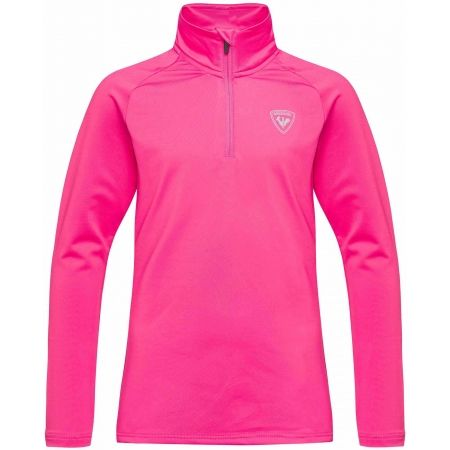 Rossignol GIRL 1/2 ZIP WARM STRETCH - Kids' turtleneck