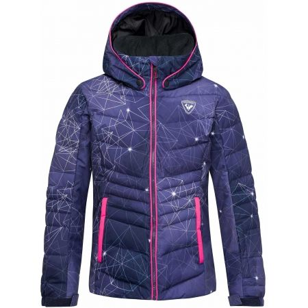 Dievčenská lyžiarska bunda - Rossignol GIRL POLYDOWN PR JKT - 1
