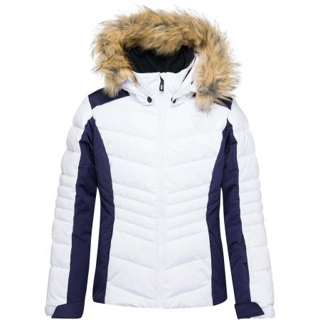 Rossignol GIRL BB POLYDOWN PEARLY JKT - Girls' ski jacket