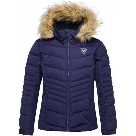 Rossignol GIRL BB POLYDOWN PEARLY JKT - Момичешко ски яке