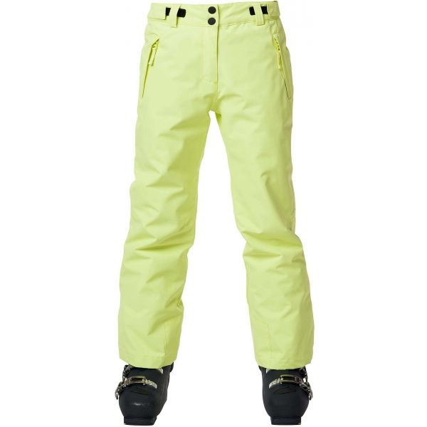 Rossignol GIRL SKI PANT žlutá 12 - Dívčí lyžařské kalhoty
