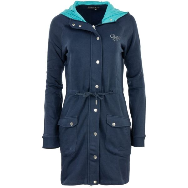 ALPINE PRO MORGANA 2 tmavě modrá XL - Dámský kabát