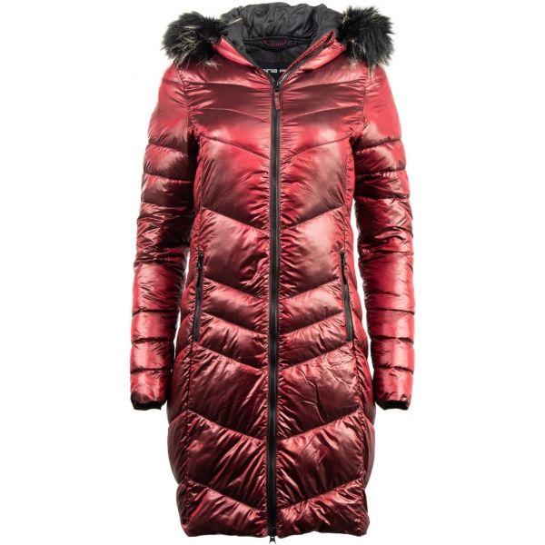 ALPINE PRO RAMA červená L - Dámsky kabát