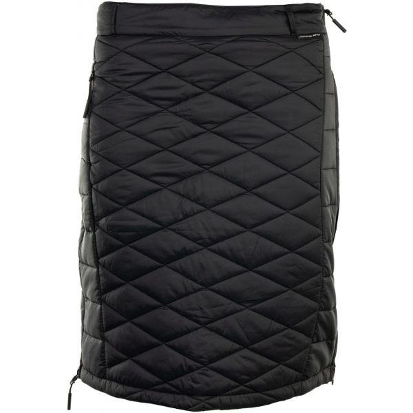 ALPINE PRO THEA čierna M - Dámska sukňa
