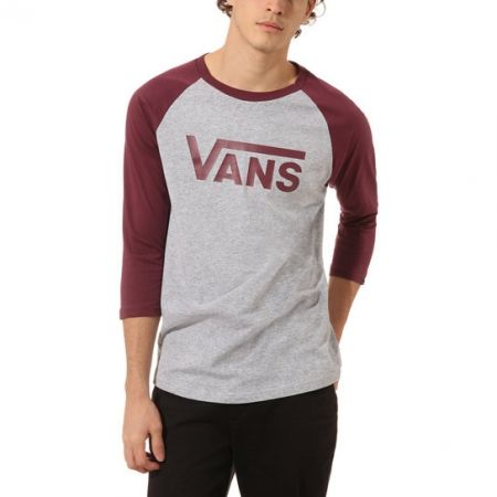 Men's 3/4 sleeve T-shirt - Vans MN VANS CLASSIC RAGLAN ATHLETIC - 4