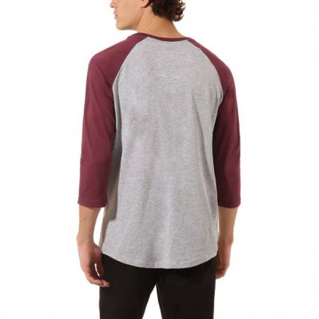 Men's 3/4 sleeve T-shirt - Vans MN VANS CLASSIC RAGLAN ATHLETIC - 5