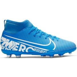 Nike JR SUPERFLY 7 CLUB FG/MG - Ghete de fotbal băieți