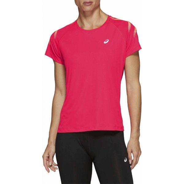 Asics SILVER ICON TOP rózsaszín XS - Női futópóló