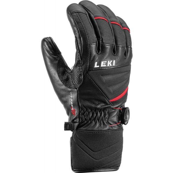 Leki GRIFFIN TUNE S BOA černá 9 - Sjezdové rukavice