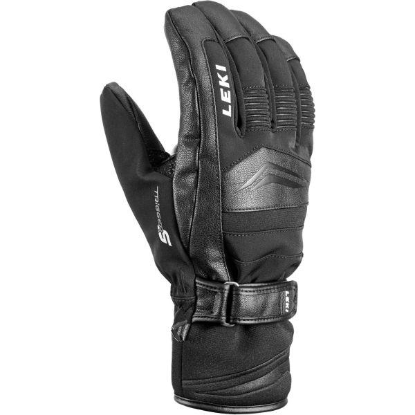 Leki PHASE S černá 10 - Sjezdové rukavice