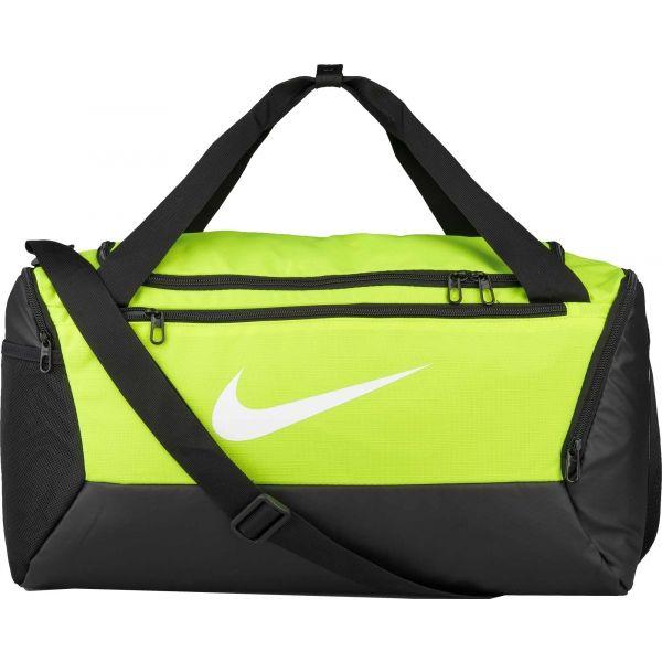 Nike BRASILIA S DUFF zelená  - Sportovní taška