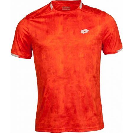 Pánské tenisové triko - Lotto TOP TEN TEE PRT PL - 1