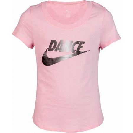 Тениска за момичета - Nike NSW TEE SCOOP DANCE SWOOSH - 1