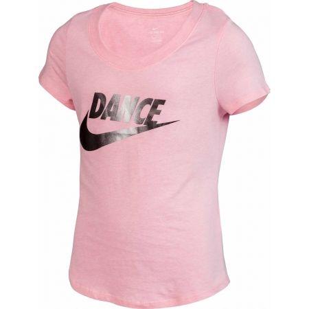Тениска за момичета - Nike NSW TEE SCOOP DANCE SWOOSH - 2