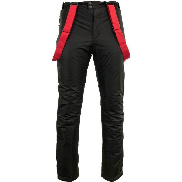 ALPINE PRO ZACH černá M - Pánské kalhoty
