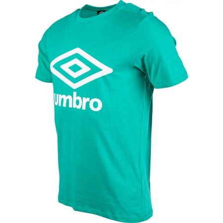 Pánske tričko - Umbro LARGE COTTON LOGO TEE - 2
