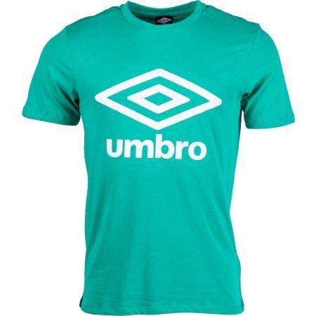 Pánske tričko - Umbro LARGE COTTON LOGO TEE - 1