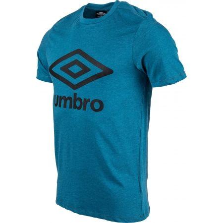 Pánske tričko - Umbro FW LARGE COTTON LOGO TEE - 2