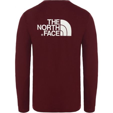 Pánske tričko - The North Face L/S EASY TEE DEEP M - 2