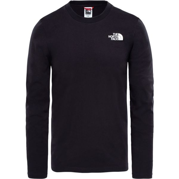 The North Face L/S EASY TEE černá XL - Pánské tričko