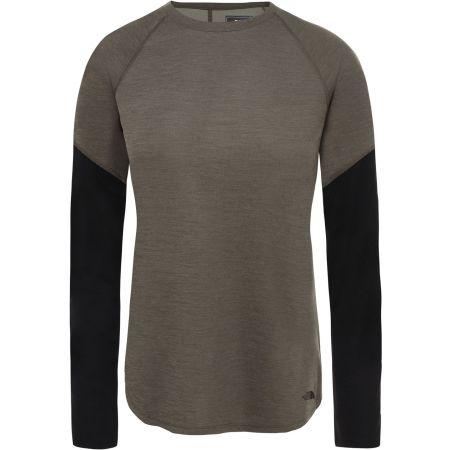 The North Face PRESTA LS W - Dámské tričko s dlouhým rukávem