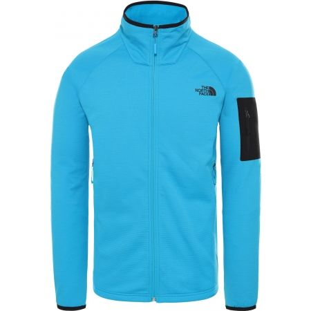 The North Face BOROD FULL ZIP ACOUSTICBL - Bluza męska