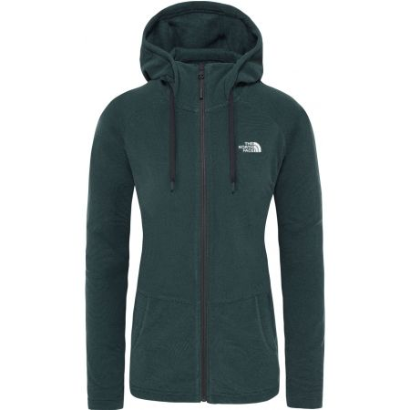Bluza damska - The North Face MEZZALUNA FLL ZP H - 1