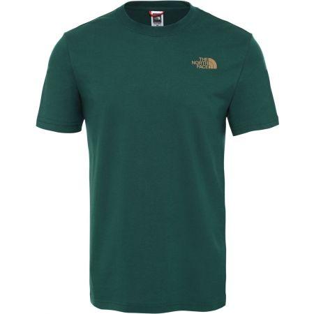 Pánske tričko - The North Face S/S RED BOX TEE - 1