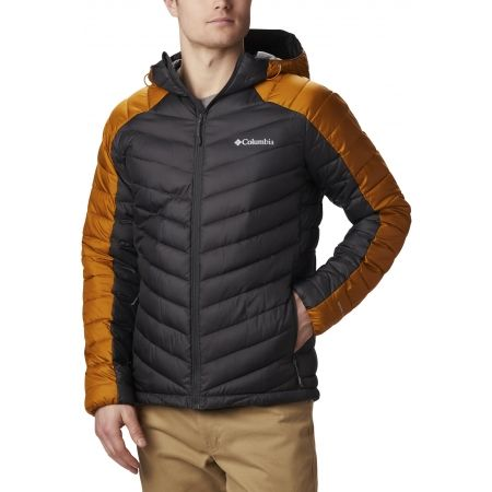 Columbia HORIZON EXPLORER HOODED JACKET - Pánska zateplená bunda