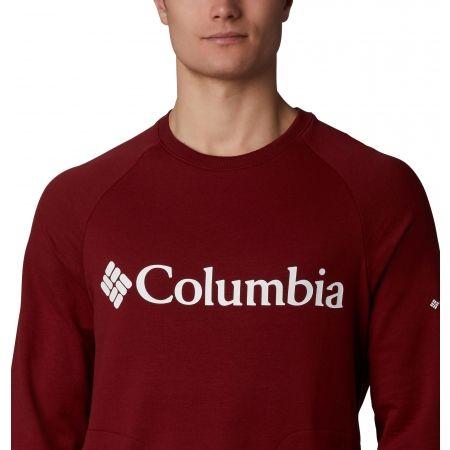 Pánsky outdoorový sveter - Columbia LODGE CREW - 5