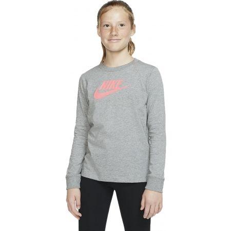 Dívčí tričko - Nike NSW TEE LS ESSNT FUTURA HOOK - 3