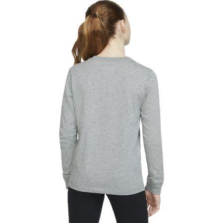 Dívčí tričko - Nike NSW TEE LS ESSNT FUTURA HOOK - 4