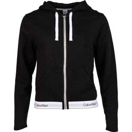 Calvin Klein TOP HOODIE FULL ZIP - Bluza damska