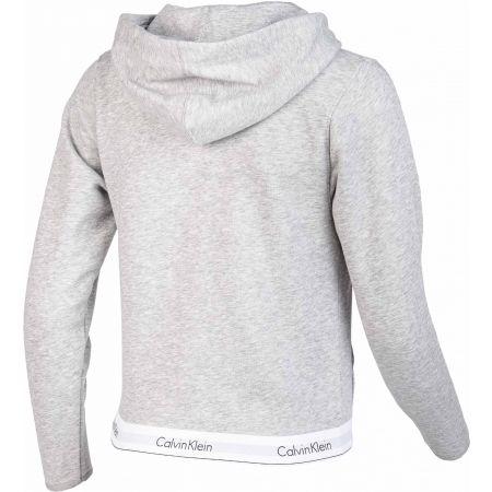 Dámská mikina - Calvin Klein TOP HOODIE FULL ZIP - 3