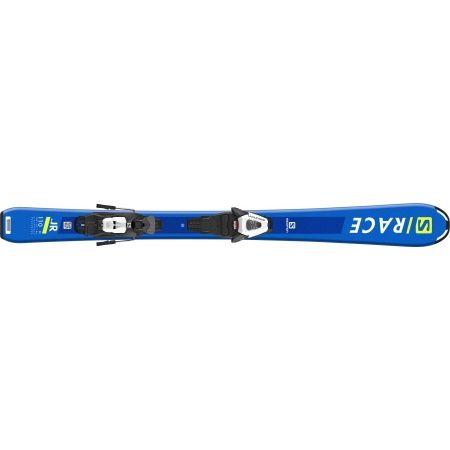 Dětské sjezdové lyže - Salomon S/RACE Jr S + C5 GW - 4
