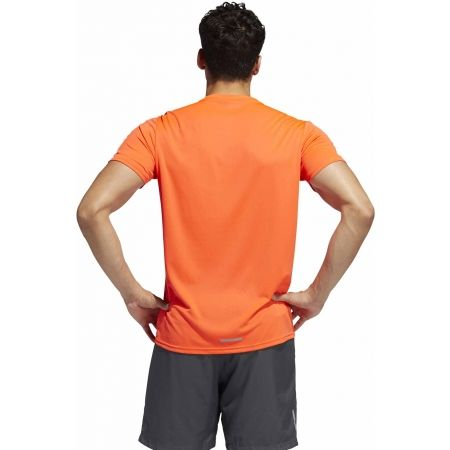 Мъжка тениска - adidas RUN 3S TEE M - 7