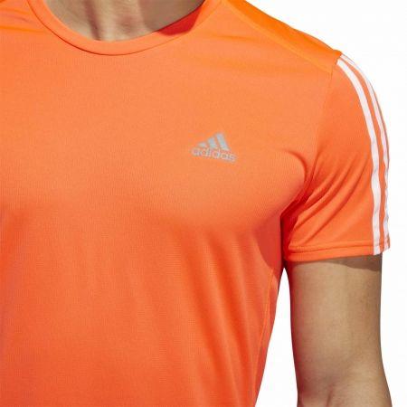 Мъжка тениска - adidas RUN 3S TEE M - 9