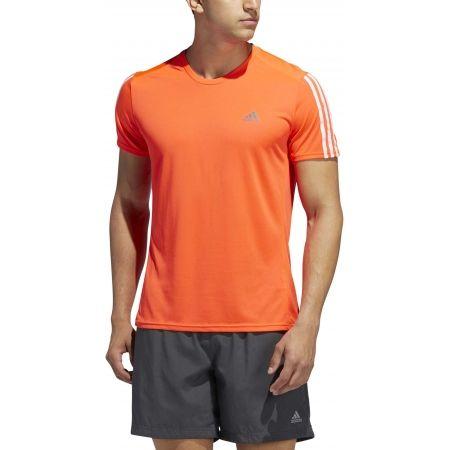 Мъжка тениска - adidas RUN 3S TEE M - 3