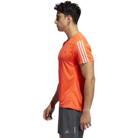 Мъжка тениска - adidas RUN 3S TEE M - 6