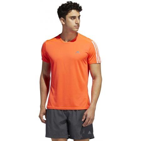 Мъжка тениска - adidas RUN 3S TEE M - 4