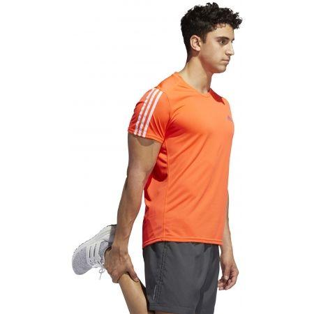 Мъжка тениска - adidas RUN 3S TEE M - 5