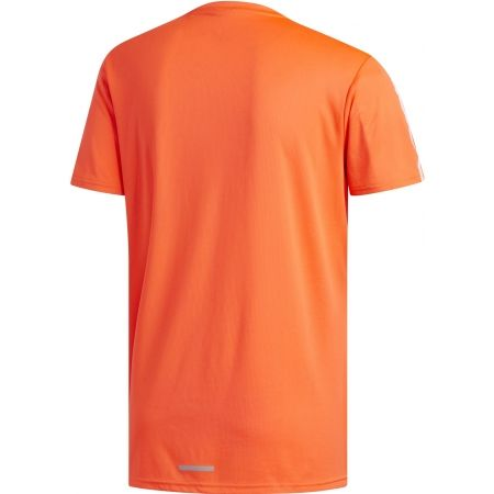 Мъжка тениска - adidas RUN 3S TEE M - 2