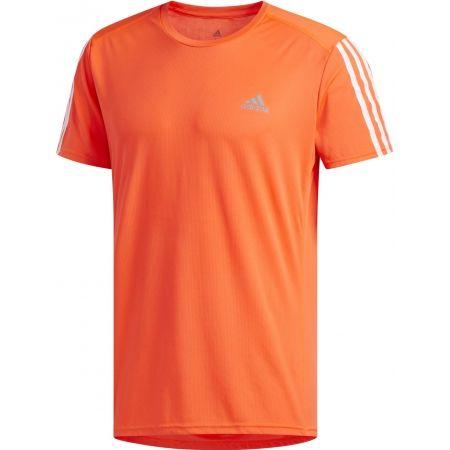 Мъжка тениска - adidas RUN 3S TEE M - 1